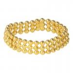 Diecast Bracelet  (Gold)