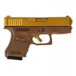 Glock 26 Pistol (Gold)