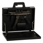 Suitcase with HK MP5 Submachinegun (Black)