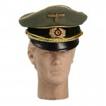 Schirmmütze Field Marshal General Officer Visor Cap (Feldgrau)