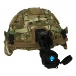 Virtus Helmet with MTP Cover and AN/PVS-14 NVG (Multicam)