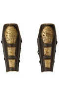 Diecast Roman General Leg Armors (Brown)