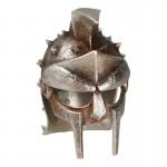 Worn Diecast Gladiator Helmet (Silver)
