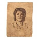 Portrait de Bilbo Baggins (Beige)