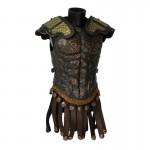 Armure de buste en métal (Bronze)