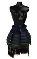 Female Tare Skirt with Haidate Thigh Armors (Blue)