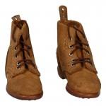 Chaussures armée japonaise usées (Marron)