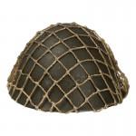 Casque Type 90 en métal avec couvre casque filet (Olive Drab)