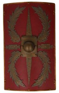 LEG II Romain Centurion Shield (Red)