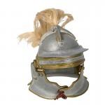 Diecast Niederbieber Helmet (Grey)