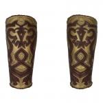 Armures d'avant bras de Roi du Rohan (Marron)