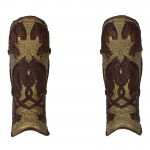 King Of Rohan Leg Armors (Brown)