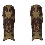 Armures de jambes de Roi du Rohan (Marron)