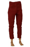 Velvet Braccae Pants (Red)