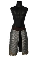 King Of Rohan Armored Skirt (Grey)