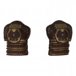 King Of Rohan Shoulder Pads (Brown)