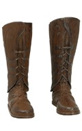 Worn Elvish Boots (Brown)