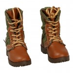 Female Combat Boots (Olive Drab)