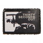 Patch Thirty Seconds Out (Noir)