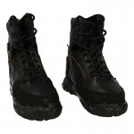 Leather Tactical Boots (Black)