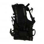 Dog K-9 Tactical Vest (Black)