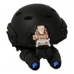 Fast Maritime Helmet with AN/PVS-15 Binocular NVG (Black)