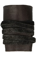 Worn Leather Forearm Protection (Brown)