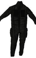 Damaged First Order Tie Pilot Flight Suit (Black)