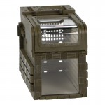 Cage de transport pour animal (Olive Drab)