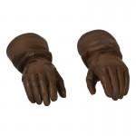 Gloved Hands (Brown)