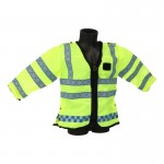 HI-VIS Metropolitan Police Reflective Jacket (Yellow)