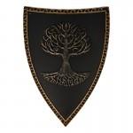 Bouclier de chevalier (Noir)