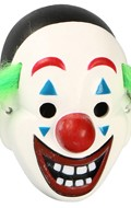 Masque de clown (Blanc)