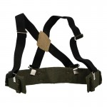Molle Equipment Belt with Suspenders (Olive Drab)