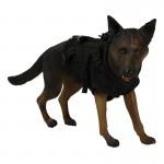 German Shepherd Dog with Tactical Vest (Brown)
