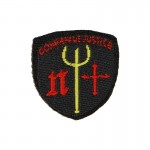 Gonna Face Justice Neptune Trident Patch (Black)