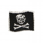 Pirate Flag Patch (Black)