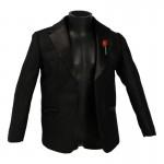 Large Size Suit Jacket (Black)