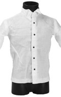 Chemise grande taille (Blanc)