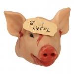 Tête de cochon décapitée (Beige)