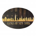 Autocollant Gangs Of New York pour Display Stand (Noir)
