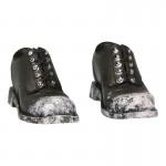 Chaussures apect usé (Marron)
