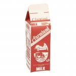 Milk Carton (Red)