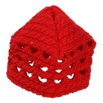 Bonnet taille adolescent Femme (Rouge)
