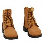 Suede USMC Boondocker Boots (Brown)