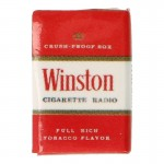 Winston Cigarette Pack (Red)