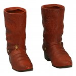 Cowboy Boots with Spurs (Brown)