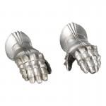 Mains gantées en armure (Argent)