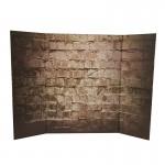 Diorama de fond mur en brique (Marron)