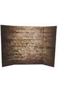 Brick Wall Diorama Background (Brown)